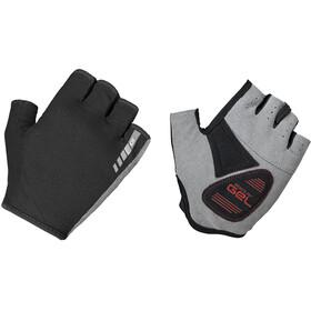 GripGrab EasyRider Gevoerde Halve Vinger Handschoenen, zwart
